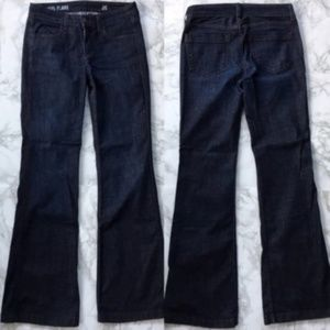 J. Crew Women Jeans Indigo High Heel Flare Size 26